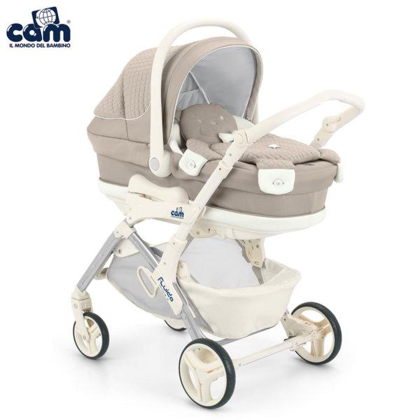 Cam - Модулна бебешка количка 3в1 Fluido City Orso 877Т/710