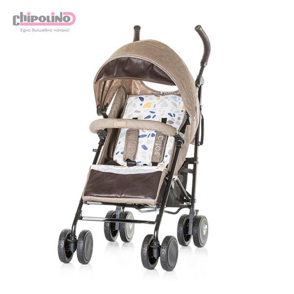 Chipolino - Лятна бебешка количка София фрапе памучни дънки