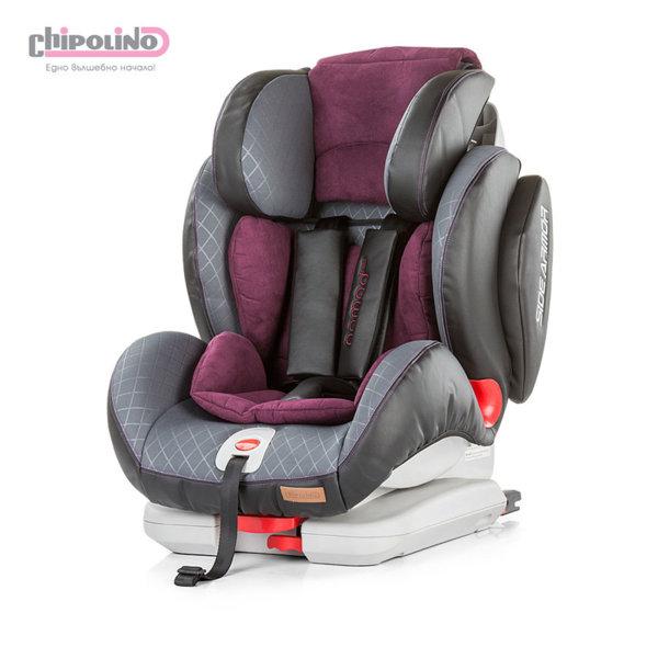 Chipolino - Стол за кола ISOFIX Номад лилав (9-36кг)
