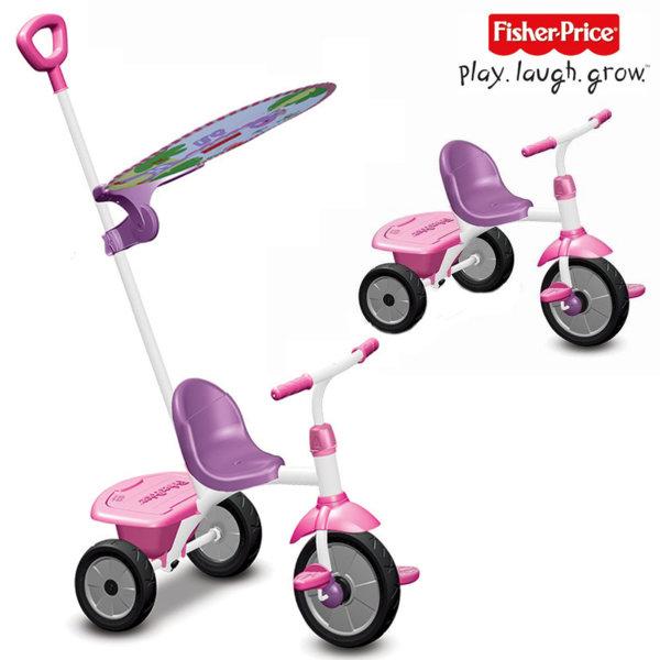 Fisher Price - Детска триколка 2в1 Stroll to Ride Trike 3300233