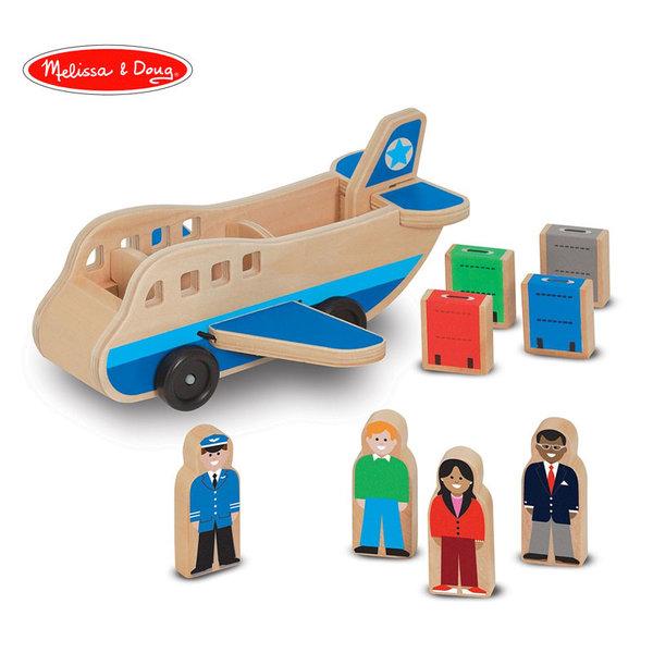 Melissa&Doug - Дървен самолет с пътници 19394