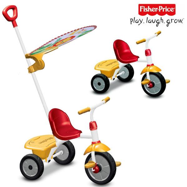 Fisher Price - Детска триколка 2в1 Stroll to ride trike 3300133