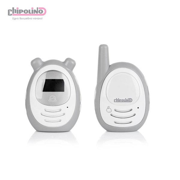 Chipolino - Дигитален бебефон Зен сив