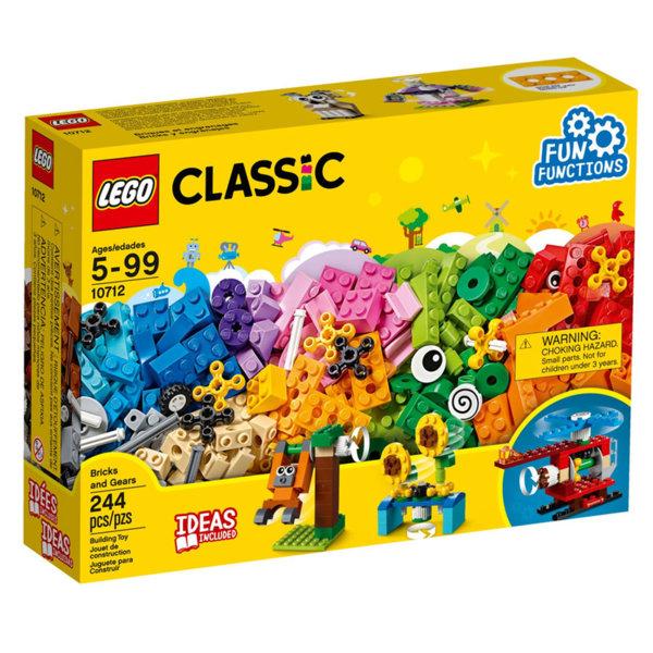 Lego 10712 Classic - Тухлички и зъбни колела