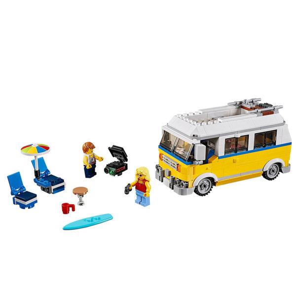 Lego 31079 Creator - Слънчев сърфистки микробус