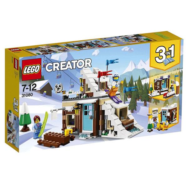 Lego 31080 Creator - Модулна Зимна ваканционна хижа