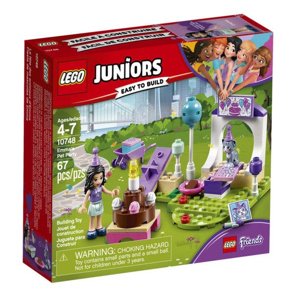 Lego 10748 Juniors Friends - Партито на домашните любимци на Ема