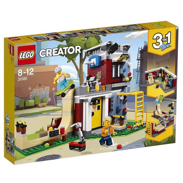 Lego 31081 Creator - Модулна Скейтърска къша