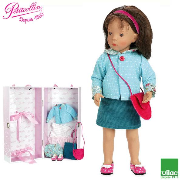 Vilac - Petitcollin Кукла Minouche Maelle 34cm по дизайн на Silvia Natterer 613411