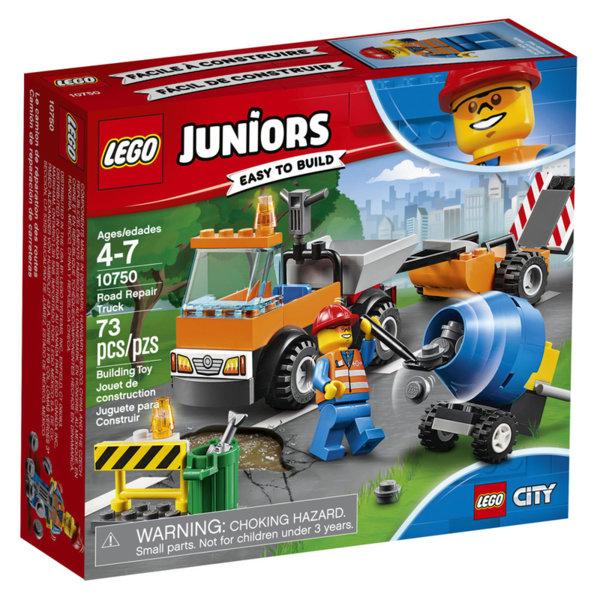 Lego 10750 Juniors City - Камион за пътни ремонти