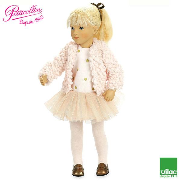 Vilac - Petitcollin Кукла Starlette Julia 44cm по дизайн на Silvia Natterer 614406