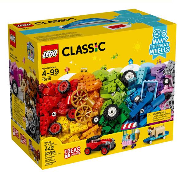Lego 10715 Classic - Тухлички на колела