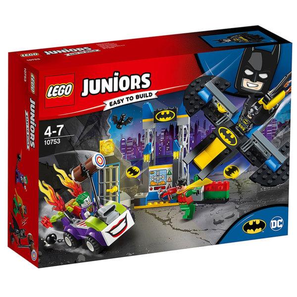Lego 10753 Juniors Batman - Нападението от Жокера над бат-пещерата