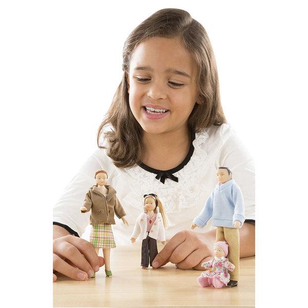 Melissa&Doug - Семейство кукли 12587