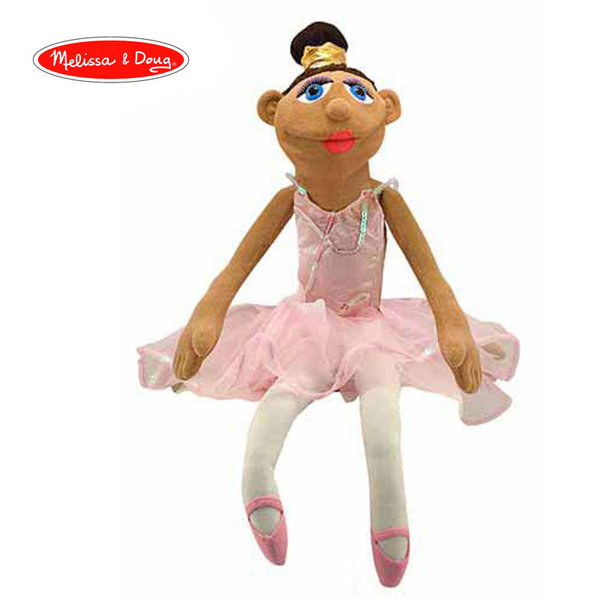 Melissa&Doug - Плюшена кукла за куклен театър Балерина 13895