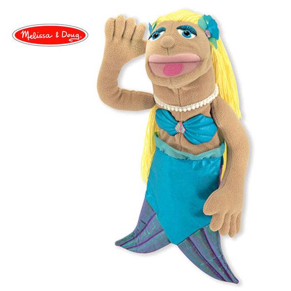 Melissa&Doug - Плюшена кукла за куклен театър Русалка 13896