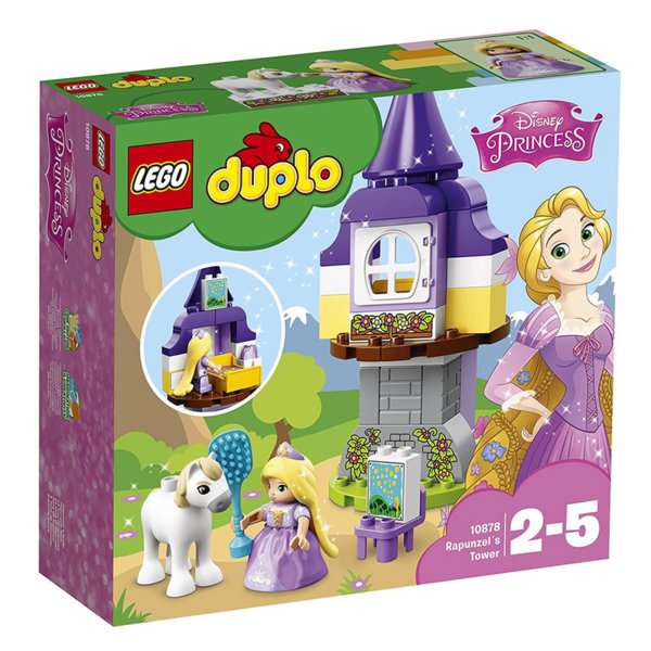 Lego 10878 Duplo Disney - Кулата на Рапунцел