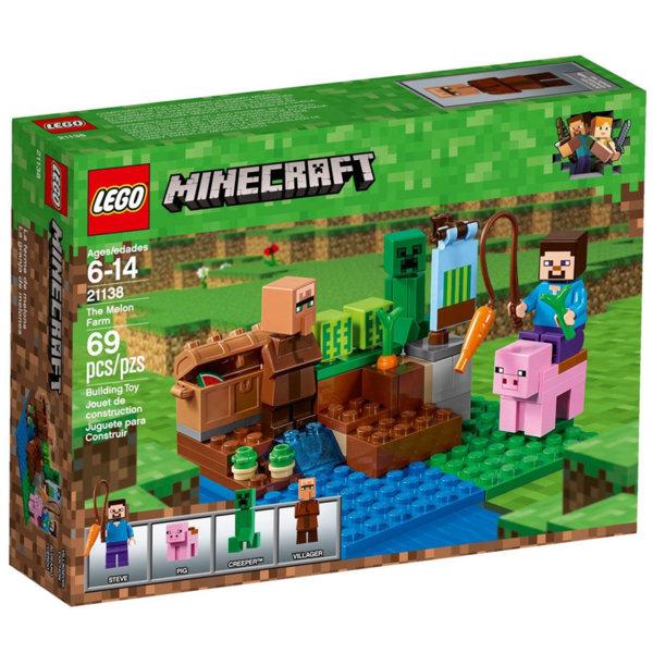 Lego 21138 Minecraft - Фермата за пъпеши