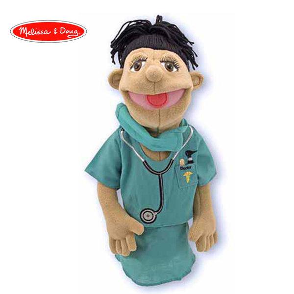 Melissa&Doug - Плюшена кукла за куклен театър Доктор 12550