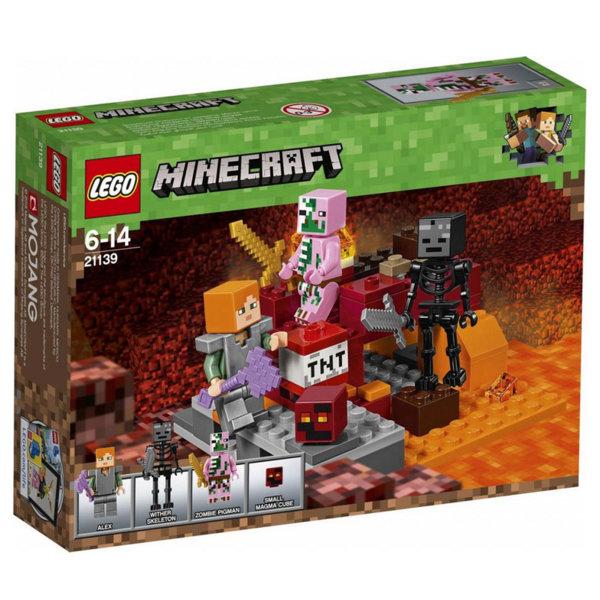 Lego 21139 Minecraft - Битка в Ада