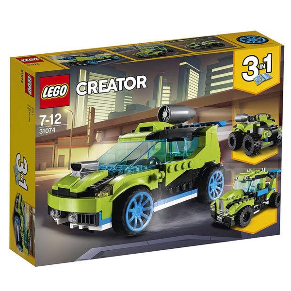 Lego 31074 Creator - Ракетна кола за рали