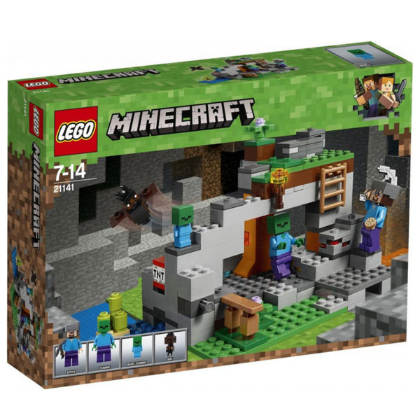 Lego 21141 Minecraft - Пещерата на зомбитата