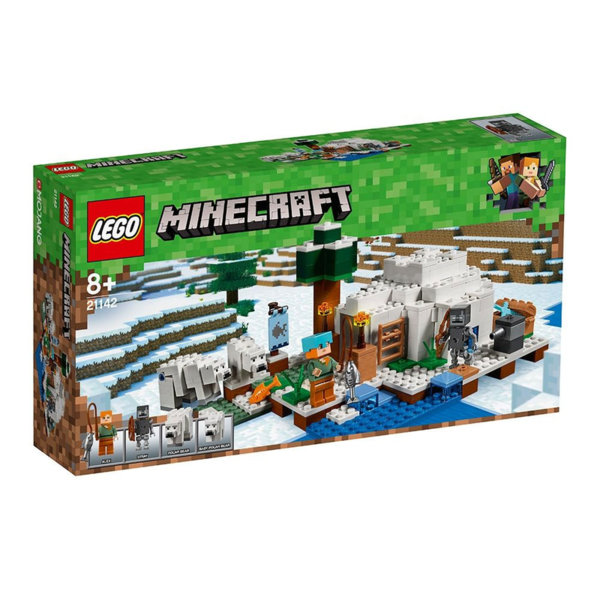 Lego 21142 Minecraft - Полярно иглу