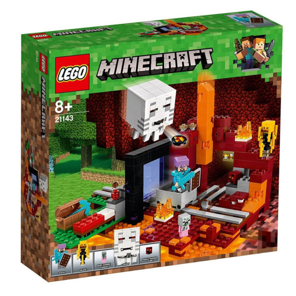 Lego 21143 Minecraft - Портал към Ада