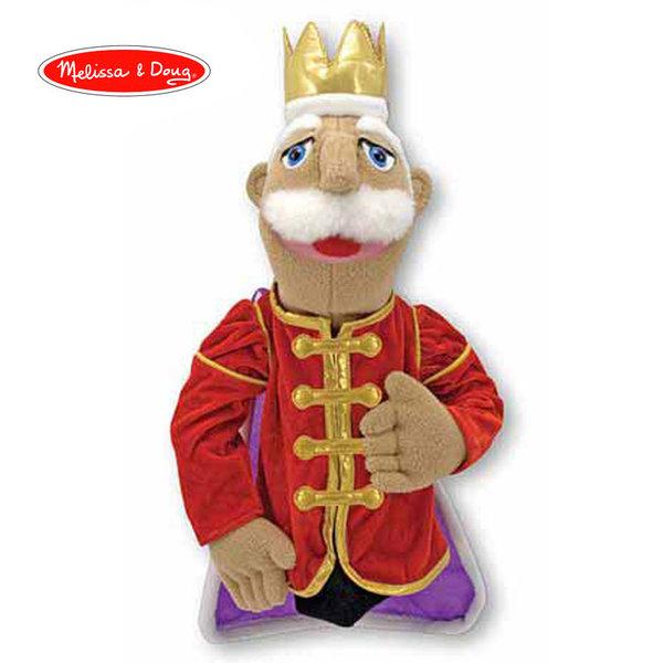 Melissa&Doug - Плюшена кукла за куклен театър Крал 13890
