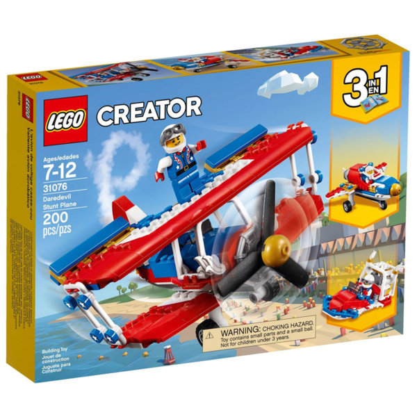 Lego 31076 Creator - Каскадьорски самолет
