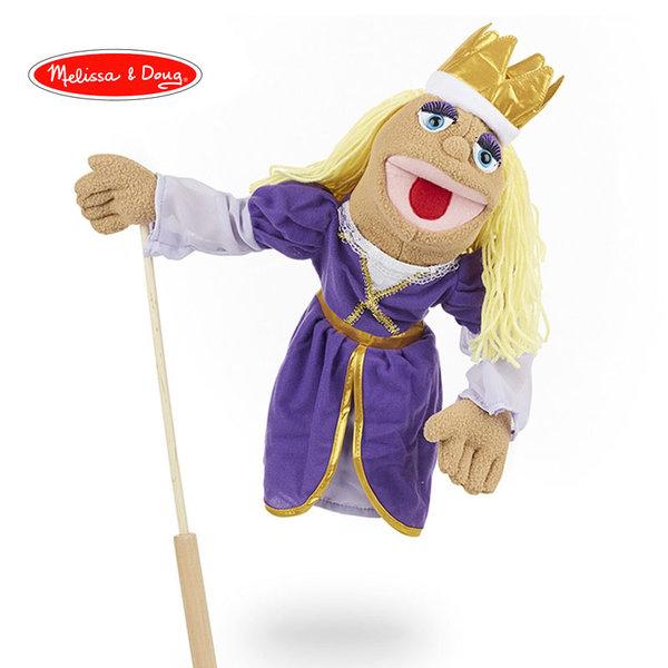 Melissa&Doug - Плюшена кукла за куклен театър Принцеса 13892