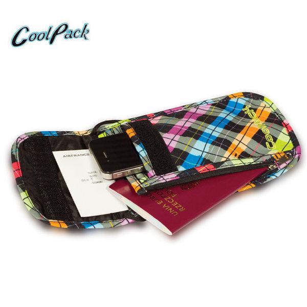 Cool Pack - Tourist Портмоне за врат Signs 75336