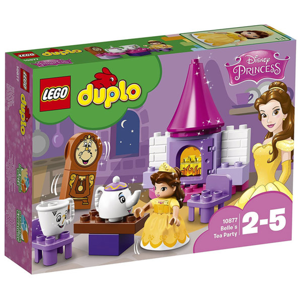 Lego 10877 Duplo - Чаеното парти на Бел