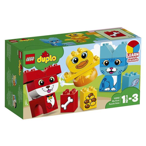 Lego 10858 Duplo - Моите първи пъзели животни