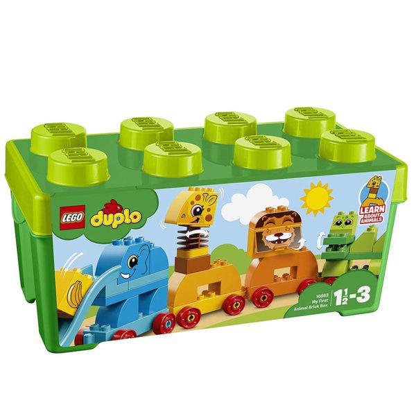 Lego 10863 Duplo - Моята първа кутия с тухлички животни