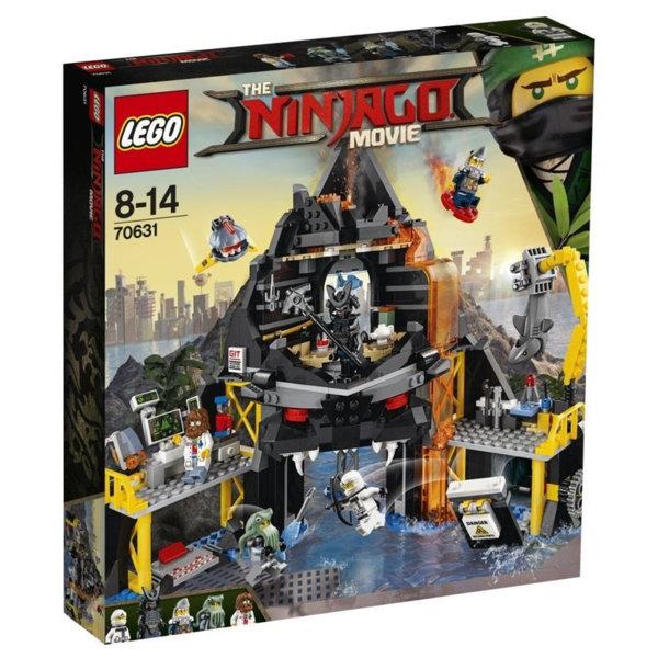 Лего 70631 Нинджаго - Вулканичното леговище на Garmadon