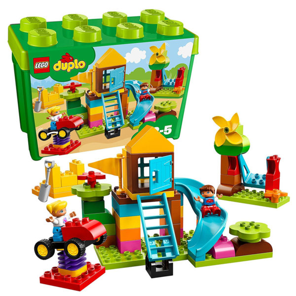 Lego 10864 Duplo - Кутия с тухлички Голяма площадка