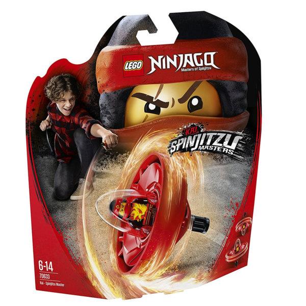 Лего 70633 Нинджаго - Kai майстор на спинджицу