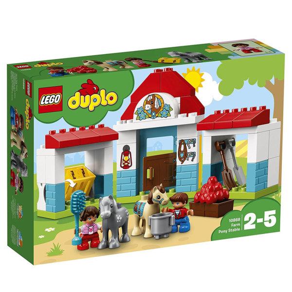 Lego 10868 Duplo - Фермерска конюшна за понита