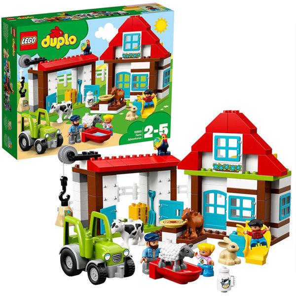Lego 10869 Duplo - Приключения във фермата