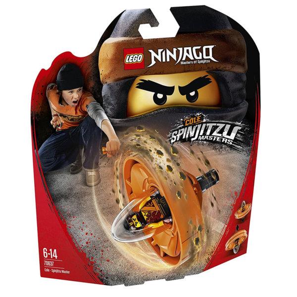 Лего 70637 Нинджаго - Cole майстор на спинджицу