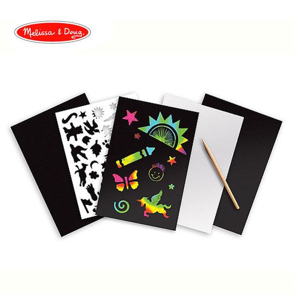 Melissa&Doug - Скреч арт цветовете на дъгата 15801