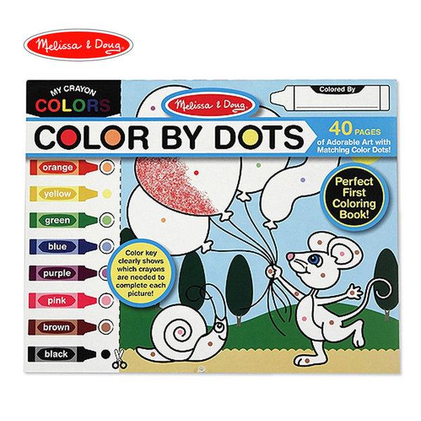 Melissa&Doug - Блокче за оцветяване по точки 14006