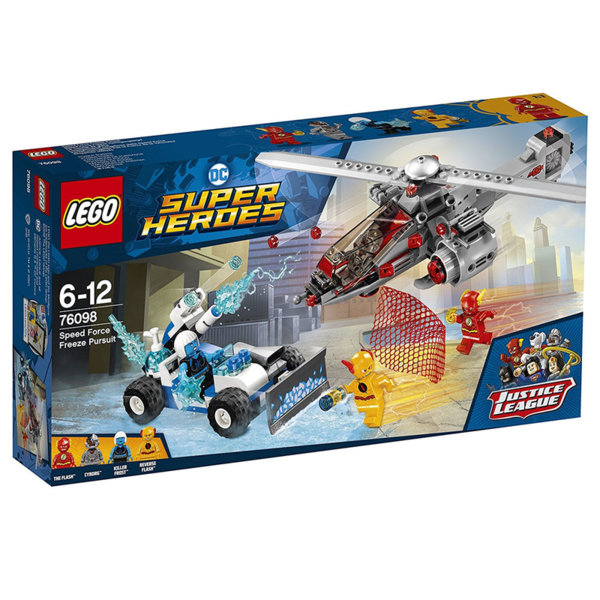 Lego 76098 Super Heroes - Speed Force Freeze Pursuit