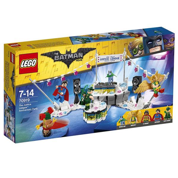 Lego 70919 Batman - Парти на Лигата на справедливостта