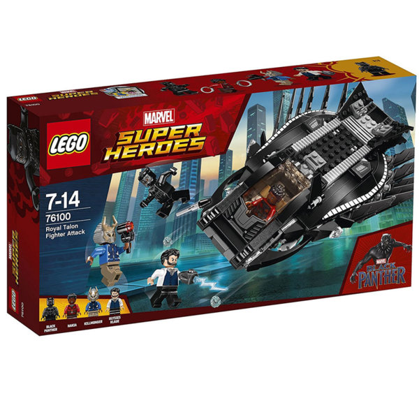 Lego 76100 Super Heroes - Royal Talon Fighter Attack