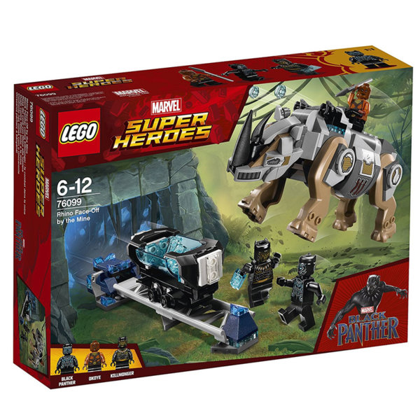 Lego 76099 Super Heroes - Rhino Face-Off by the Mine