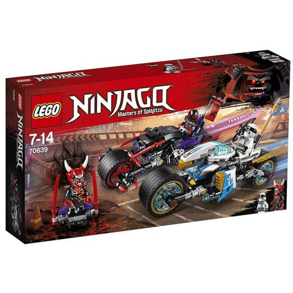Лего 70639 Нинджаго - Състезание на улицата