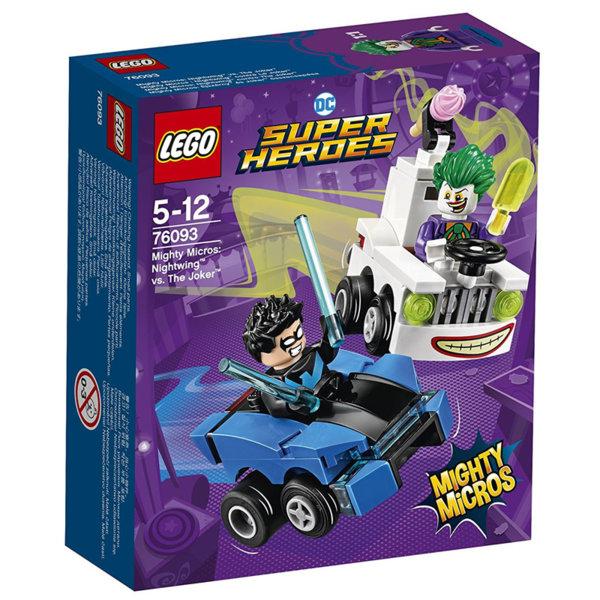 Lego 76093 Super Heroes - Mighty Micros: Nightwing срещу The Joker