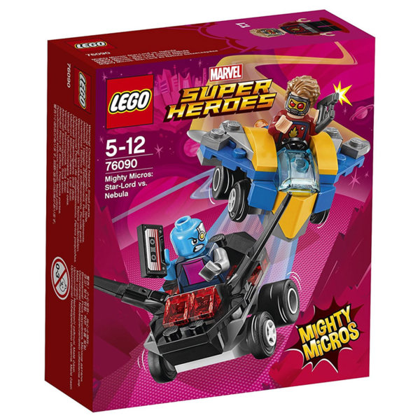 Lego 76090 Super Heroes - Mighty Micros: Star-Lord срещу Nebula